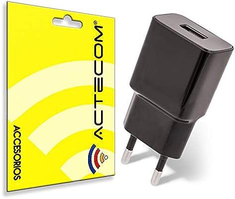actecom Cargador DE Red Pared 5V 2.1A 1xUSB Compatible TELEFONOS ...