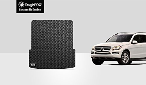 ToughPRO Cargo/Trunk Mat Compatible with Mercedes-Benz GL450 GLS450 GLS340d GLS550 GLS63 AMG - All Weather - Heavy Duty - (Made in USA) - Black Rubber - 2013, 2014, 2015, 2016
