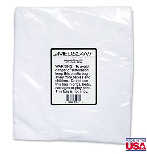 Medslant Poly/Cotton Wedge Pillow Cover for the Medslant BIG Wedge Pillow Only