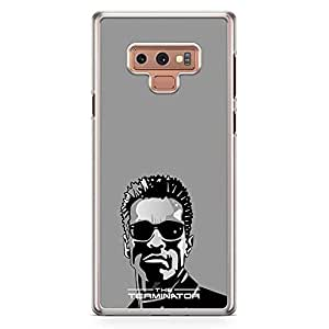 Loud Universe Arnold Terminator Samsung Note 9 Case Classical Movie Samsung Note 9 Cover with Transparent Edges