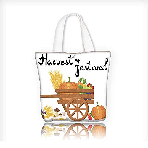 tote bag for grocery shoppingcanvas bag shoppingHarvest festival Harvest fruits and vegetables Autumn Collection of elements 14
