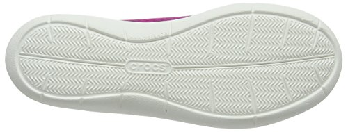 Crocs vibrant white Viola Mujer Para Violet Bailarinas Flat Cerrada Punta W Swiftwater Con BqrnpBU