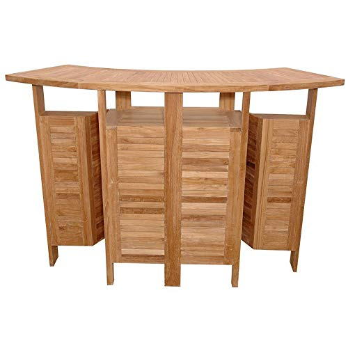 Anderson Teak BS-010 Altavista Folding Bar Table (Anderson Teak Garden Furniture)