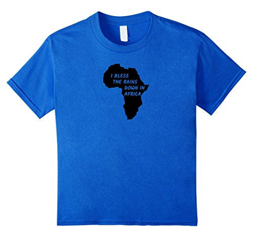Price comparison product image Kids Toto - Africa - Bless the Rains - T-shirt 12 Royal Blue