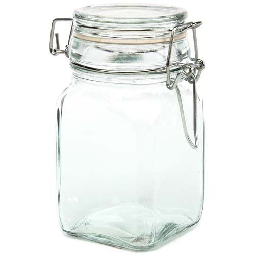 Creative Hobbies Glass Jars w/Locking Lid -4.75