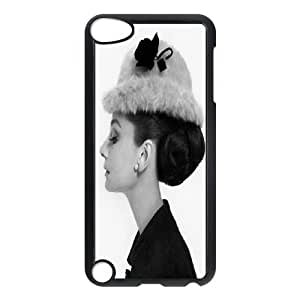 Custom Printed Phone Case Audrey Hepburn For Ipod Touch 5 RK2Q03428