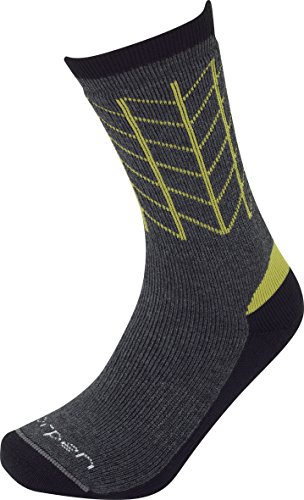 (Lorpen Men's T2 Midweight Hiker Socks, Charcoal, Large)