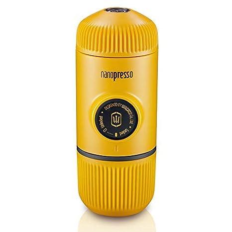 Wacaco Nanopresso Portátil Espresso Maker, Versión mejorada de Minipresso, 18 Presión de barra,