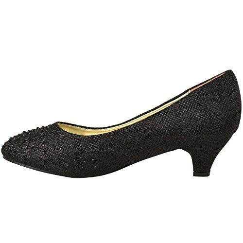 Mujer Gatito Sal Bajo Zapatos De gHTgx