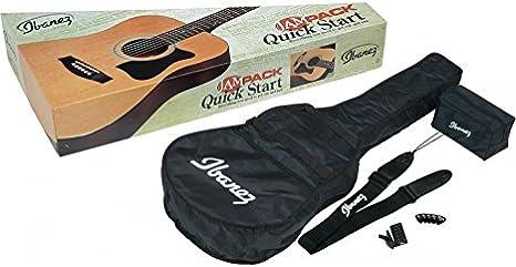 Pack Guitarra Acústica Ibanez v50njp – Jam Pack – Natural – Stock B: Amazon.es: Instrumentos musicales