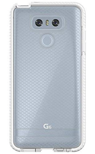Tech21 Evo Check Case for LG G6 - Clear/White by tech21 (Image #1)