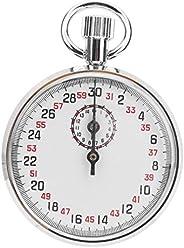 Mechanical Stop Watch Handheld Mechanical Stopwatch Sports Stopwatch Timer with Storage Box Round Stopwatch Ru