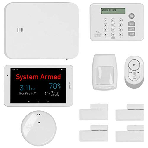 LifeShield, an ADT Company - 11-Piece Easy, DIY Smart Home Security System - Optional 24/7 Monitoring - No Contract - Wi-Fi Enabled - Alexa Compatible ()