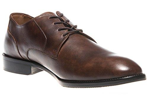 à Manz Homme Marron Ville Lacets de Chaussures pour Marron qrFtBrvw
