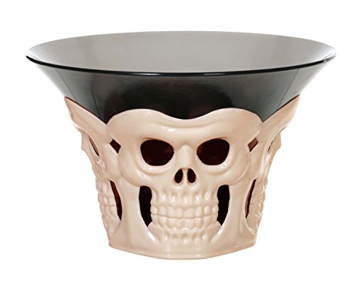 Price comparison product image Seasons Bone Skull Candy Bowl
