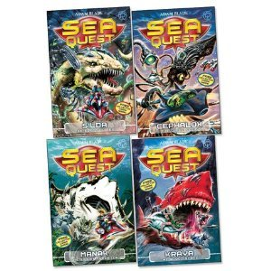 Sea Quest Pack, 4 books, RRP £19.96 (Cephalox; Silda; Manak; Kraya). (Sea Quest Adam Blade)