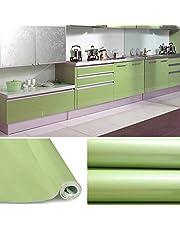 KINLO Papier Peint Auto-Adhésif pour Armoire de Cuisine en PVC Imperméable Style Moderne Stickers Autocollant Muraux Étanche Décoration pour Chambre Salon Meuble