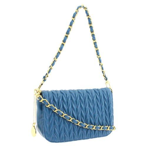 Big Buddha Ruby Cross-Body Bag,Blue,One Size, Bags Central