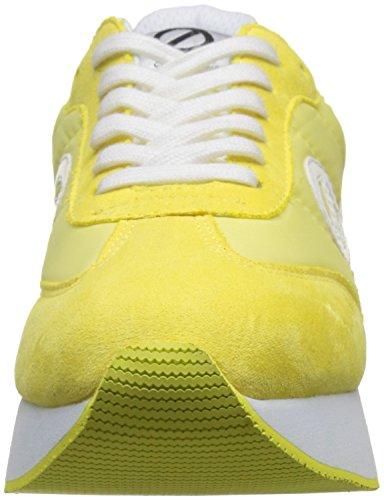 Jaune Split Name Eden Femme No Jogger Basses Lemon Baskets Nylon R84BFnq