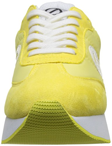 Jogger Noname Eden split Donna C7 lemon Giallo Nylon Basse 5qv4xwqZ