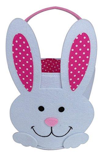 OrangeDolly Bunny Basket | Easter Bunny Basket | Easter Bucket | Bunny Bucket | Felt Easter Basket