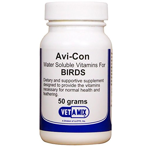 Avi-con Bird Vitamins (50 grams) (0.25 Mg Vitamin B-12)