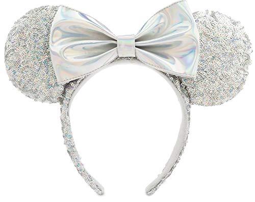 Disney Minnie Mouse Sequined Ear Headband - Magic Mirror Metallic (Mirror Band)