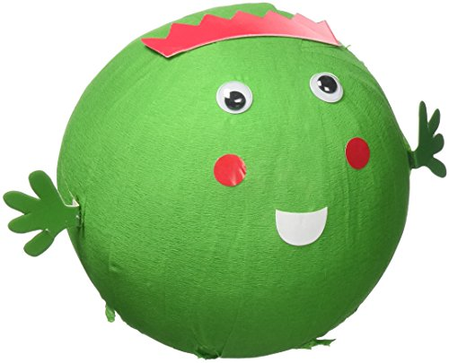 Talking Tables Boxed WONDERBALL FACE Christmas Games Pass The Parcel   Sprout Wonder Ball with Mini Treasures Inside   for Xmas Party, 10M, Sprout, Sprout