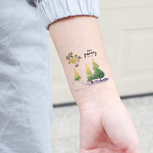 Navidad Tatuajes Temporales para Niños Santa Claus Tatuajes ...