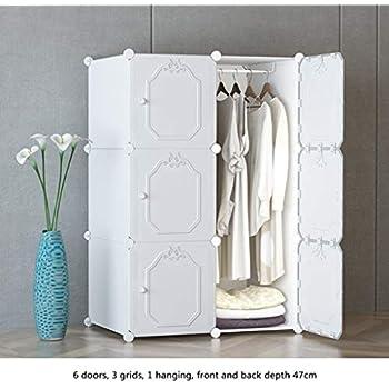 Amazon.com: Ultra Time Empty Wardrobe Clothes Portable ...
