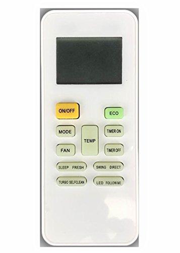 meide rg52b/BGCE AC mando a distancia para Midea Carrier Springer ventana mando a distancia Aire Acondicionado Portátil de...