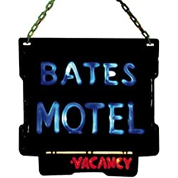 Collector Bates Motel Psycho Sign