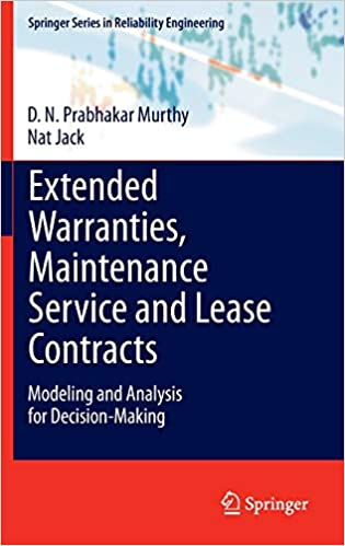 Garantías extendidas, servicio de mantenimiento y contratos de arrendamiento