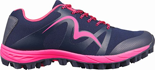 More Mile Cheviot 4 - Zapatillas de Running para Mujer, Color Azul