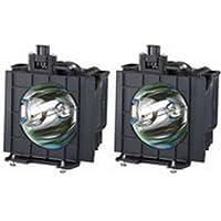 ET-LAD55W Panasonic PT-D5600E (dual) Projector Lamp