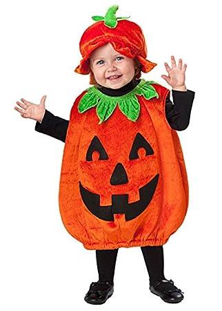Tamaño del bebé del traje de Halloween de la calabaza: Amazon.es ...
