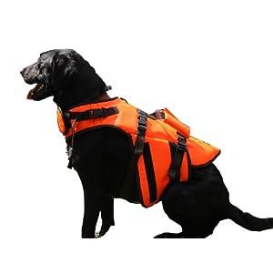 Outback Jack Dog Life Jacket by Hyper Pet, Orange, X-Large Click on image for further info.