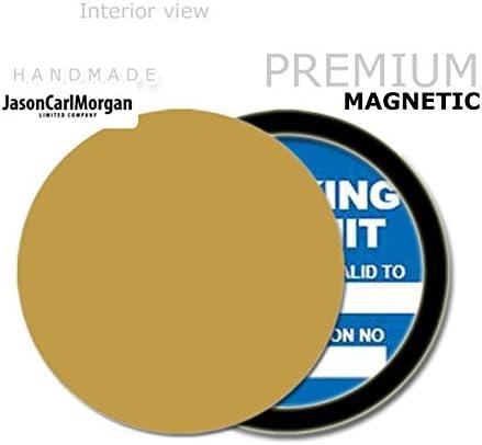 colore oro JCM Custom MOT licenza Porta disco orario