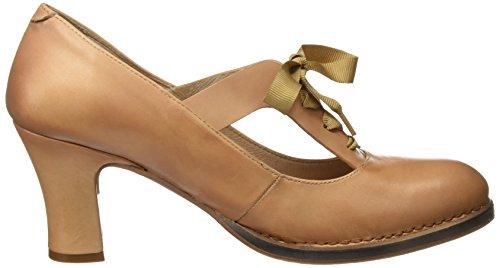 Neosens S296 Restored Skin Wood Baladi, Zapatos de Tacón con Punta Cerrada para Mujer Beige (Wood)