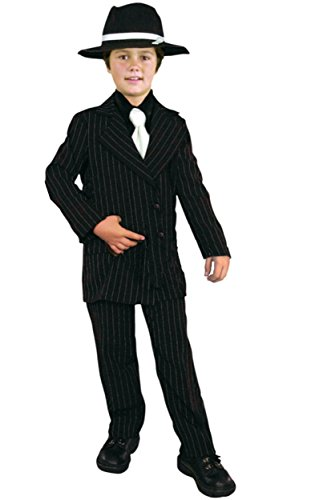 Thin Pinstriped Gangster Kids (Bonnie & Clyde Costumes)