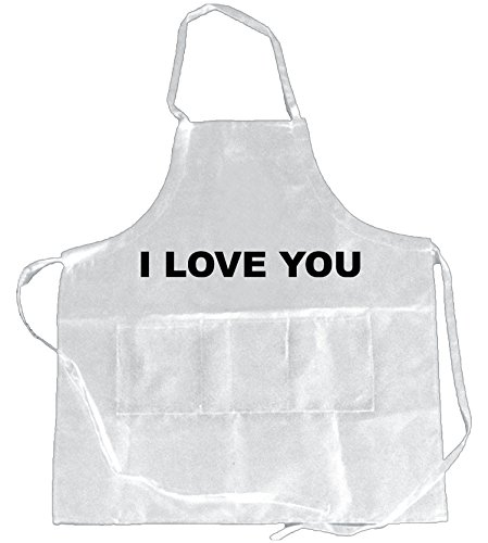 Funny Guy Mugs (Pack of 2) I Love You and I Know Aprons, Black/White by Funny Guy Mugs (Image #1)