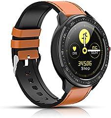 Reloj Inteligente, rastreador de Actividad física con frecuencia cardíaca, Pantalla a Color, podómetro Bluetooth...