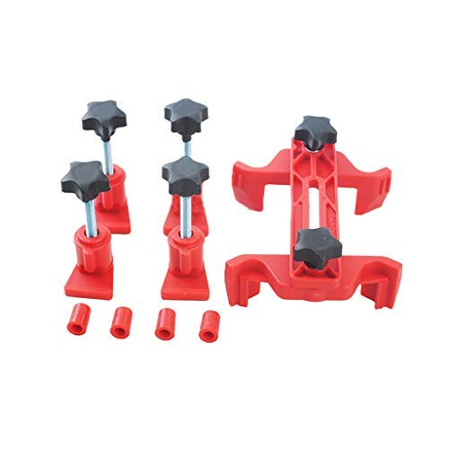 Fullwei Cam Clamp Camshaft Engine Timing Locking Tool Sprocket Gear Kit Universal - Compact Design,Safely (Red)