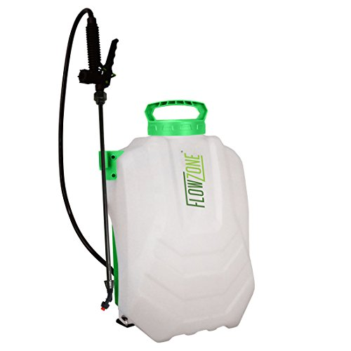FlowZone Tornado 4-Gallon Multi-Use Continuous-Pressure 18V/2.6Ah Lithium-Ion Backpack (Backpack Garden Sprayer)