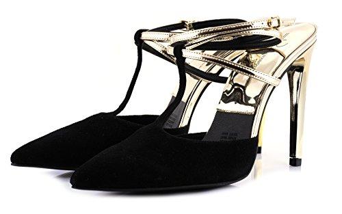 Irene Zazueta collection Gold & Black Straped (8)