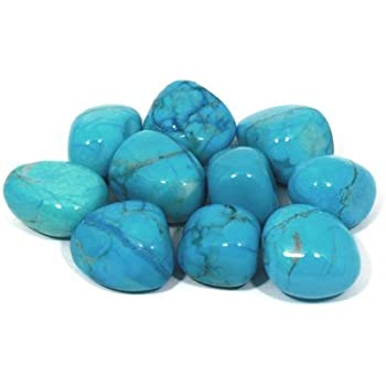 Amazon Com Turquoise Tumbled Stone Gemstone Crystal