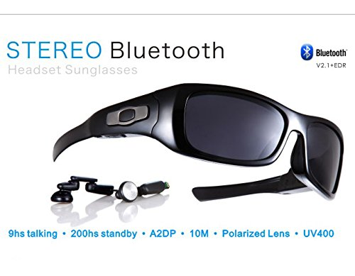 Price comparison product image Stereo Bluetooth Wireless Sunglasses for Smart Phones Stream music from cellphone Hand Free