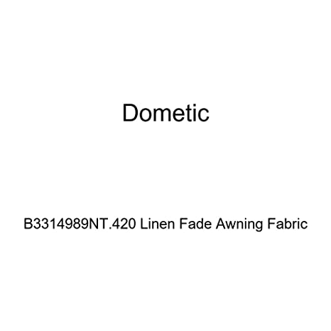 Amazon com: Dometic B3314989NT 420 Linen Fade Awning Fabric
