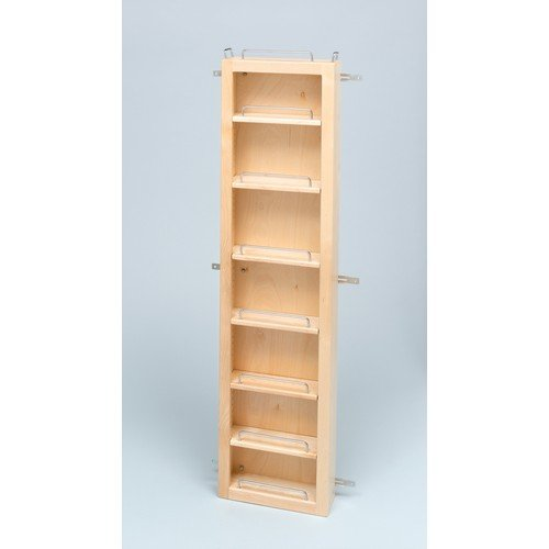 Rev-A-Shelf 4WDP18-57 57'' Pantry Door Unit (with Hardware) Single - Wood - Maple by Rev-A-Shelf