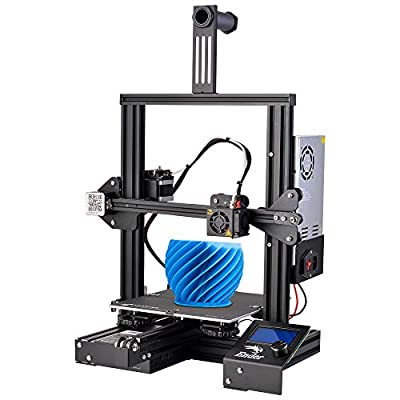 Nidouillet Creality Ender-3 V-Slot Bearing Prusa i3 DIY 3D Printer with Resume Printing MK-10 Extruder for Home & School Use, Children, Design and Education(50g Testing Filament Included) AB008